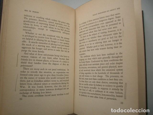 Libros antiguos: Sex In Prison: Revealing Sex Conditions in American Prisons. Fishman, Joseph F. - Foto 5 - 125901443