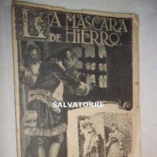 Libros antiguos: LA MASCARA DE HIERRO. CUADERNO 15.F.GRANADA Y CIA EDITORES.BARCELONA.. Lote 125917323