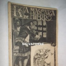 Libros antiguos: LA MASCARA DE HIERRO. CUADERNO 17.F.GRANADA Y CIA EDITORES.BARCELONA.. Lote 125917403