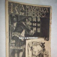 Libros antiguos: LA MASCARA DE HIERRO. CUADERNO 19.F.GRANADA Y CIA EDITORES.BARCELONA.. Lote 125917527