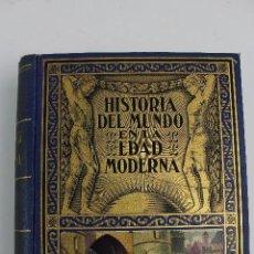 Libros antiguos: L- 4883. HISTORIA DEL MUNDO EN LA EDAD MODERNA, E. IBARRA. TOMO III, GUERRAS DE RELIGION. 1935.. Lote 125923303