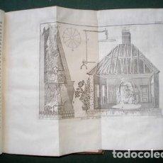 Libros antiguos: ABAD M. PLUCHE: ESPECTACULO DE LA NATURALEZA PARTE VI. TOMO XII. 30 LÁMINAS. 1757. Lote 125923999