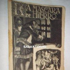 Libros antiguos: LA MASCARA DE HIERRO. CUADERNO 24.F.GRANADA Y CIA EDITORES.BARCELONA. Lote 125925415