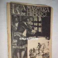 Libros antiguos: LA MASCARA DE HIERRO. CUADERNO 25 .F.GRANADA Y CIA EDITORES.BARCELONA. Lote 125925491
