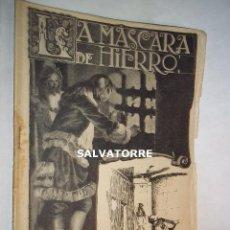 Libros antiguos: LA MASCARA DE HIERRO. CUADERNO 26.F.GRANADA Y CIA EDITORES.BARCELONA. Lote 125925539