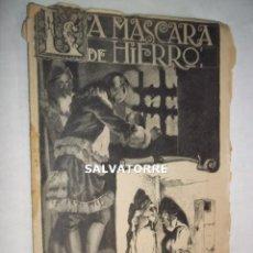 Libros antiguos: LA MASCARA DE HIERRO. CUADERNO 27.F.GRANADA Y CIA EDITORES.BARCELONA.. Lote 125925591