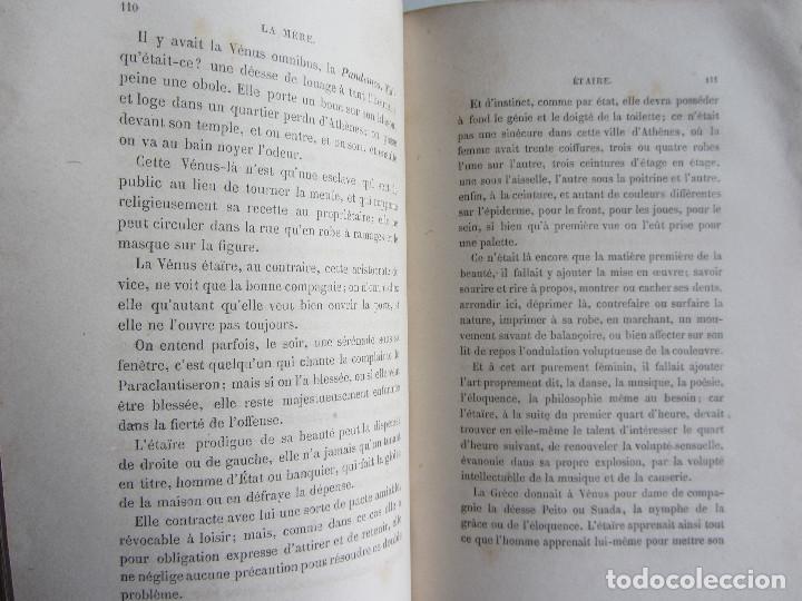 Libros antiguos: La famille La mère par Eugène Pelletan. Pagnerre Éditeur 1865. - Foto 5 - 125938147