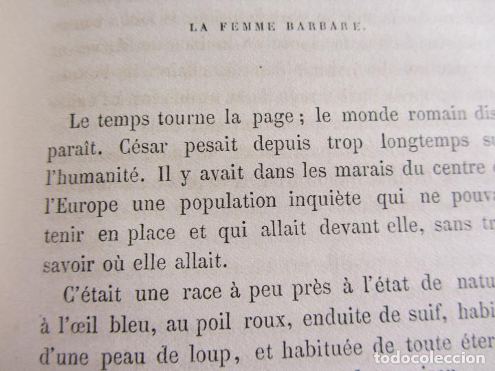 Libros antiguos: La famille La mère par Eugène Pelletan. Pagnerre Éditeur 1865. - Foto 6 - 125938147