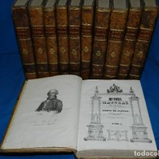Libros antiguos - (MF) CONDE DE BUFFON - HISTORIA NATURAL GENERAL ,13 TOMOS COMPLETA MADRID 1844 IMP. VICENTE FROSSART - 125950511
