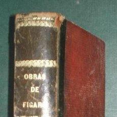 Libros antiguos: LARRA, MARIANO JOSÉ DE: OBRAS COMPLETAS DE FÍGARO. TOMO II. FINALES SIGLO XIX. Lote 125961895