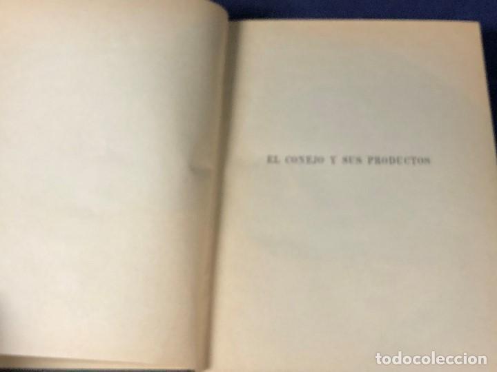 Alte Bücher: el conejo y sus productos santos aran ganaderia practica ppio s XX 21,5x16cms - Foto 3 - 126087535