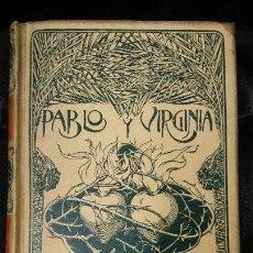 Libros antiguos: PABLO Y VIRGINIA . Lote 126100547