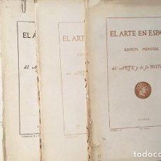 Libros antiguos: EL ARTE EN ESPAÑA. 6 NÚMEROS (1864-1866). GREGORIO CRUZADA VILLAAMIL. Lote 126108511