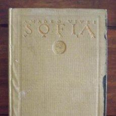 Libros antiguos: 1923, SOFÍA, AMADEO VIVES, PUBLICACIONES ATENEA. Lote 126165931
