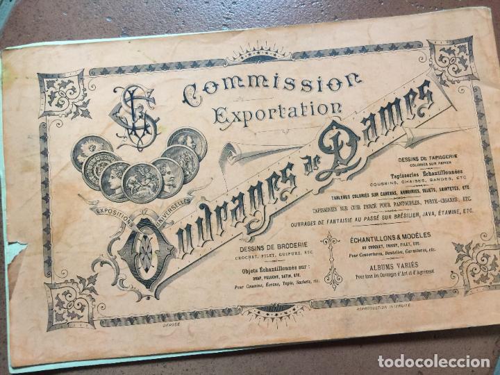 antiguo librillo de patrones para bordar letras - Comprar en ...