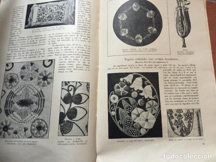 antiguo libro con patrones e instrucciones para - Comprar en ...