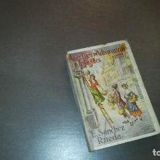 Libros antiguos: ACERTIJOS Y ADIVINANZAS INFANTILES. E. SÁNCHEZ RUEDA. IMPRENTA B IZAGUIRRE. 1923. Lote 126181055