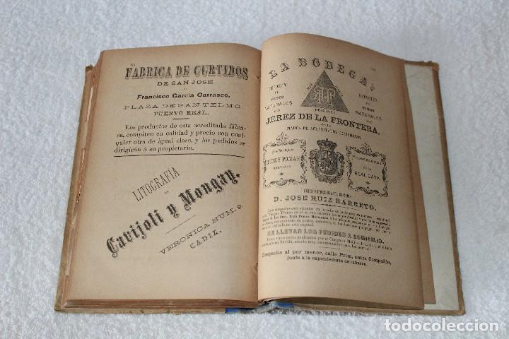 Libros antiguos: GUIA ROSETTY 1893. GUIA OFICIAL DE CÁDIZ, PUEBLOS DE LA PROVINCIA. DEPARTAMENTO MARITIMO - Foto 22 - 126197179