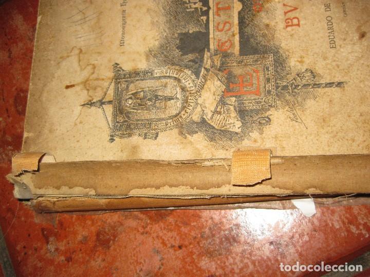Libros antiguos: Monografia historica . el castillo de burgos . Eduardo de oliver .1893 il. barrio cortes . 226 pág - Foto 2 - 126212883
