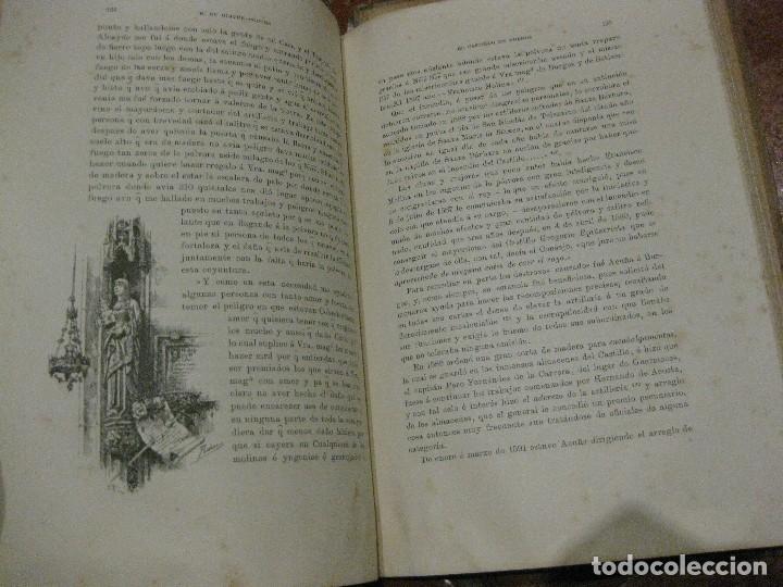 Libros antiguos: Monografia historica . el castillo de burgos . Eduardo de oliver .1893 il. barrio cortes . 226 pág - Foto 8 - 126212883