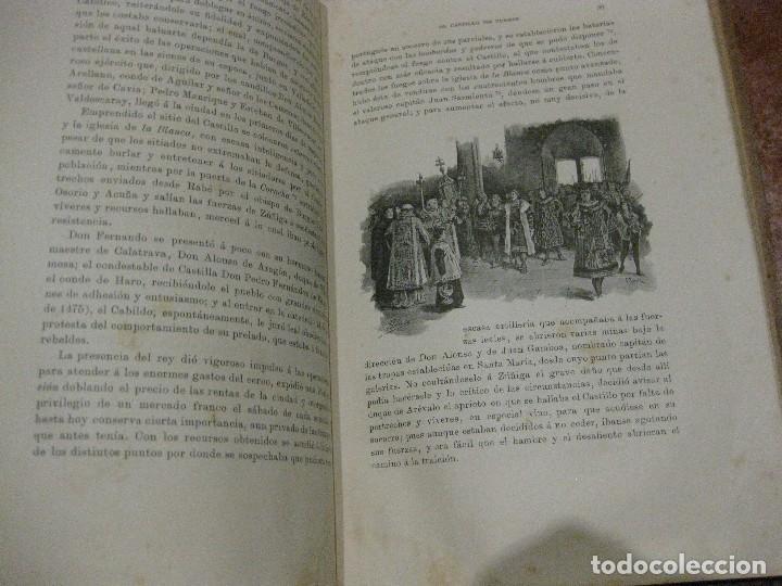 Libros antiguos: Monografia historica . el castillo de burgos . Eduardo de oliver .1893 il. barrio cortes . 226 pág - Foto 10 - 126212883