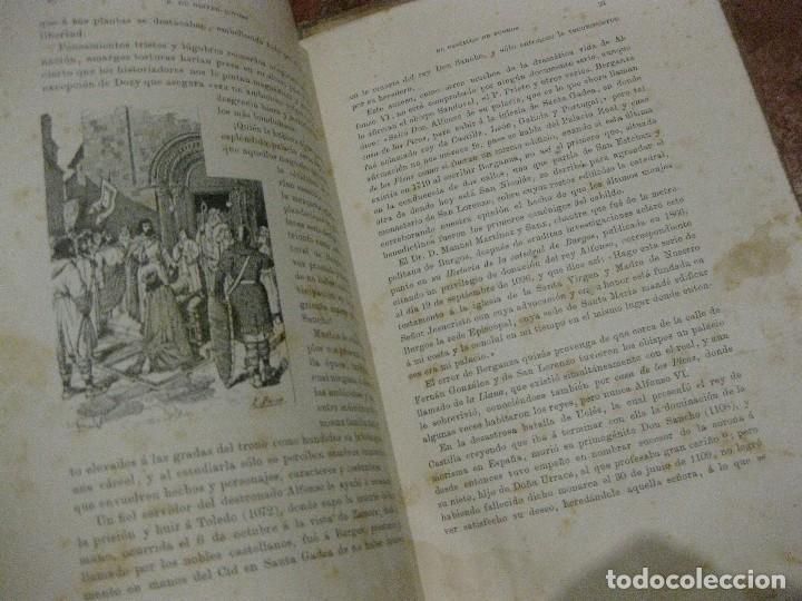 Libros antiguos: Monografia historica . el castillo de burgos . Eduardo de oliver .1893 il. barrio cortes . 226 pág - Foto 11 - 126212883