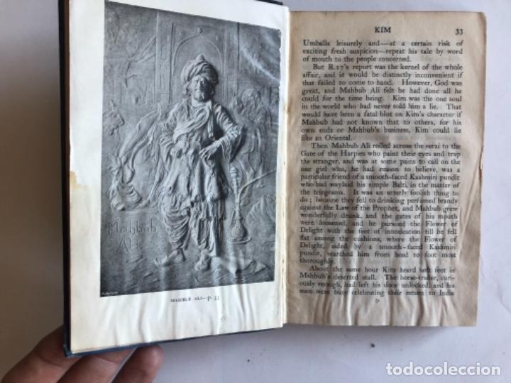 Libros antiguos: KIM BY RUDYARD KIPLING. ED. MACMILLAN &CO,1920. ILUSTRADO BY J. LOCKWOOD KIPLING. - Foto 4 - 126268847