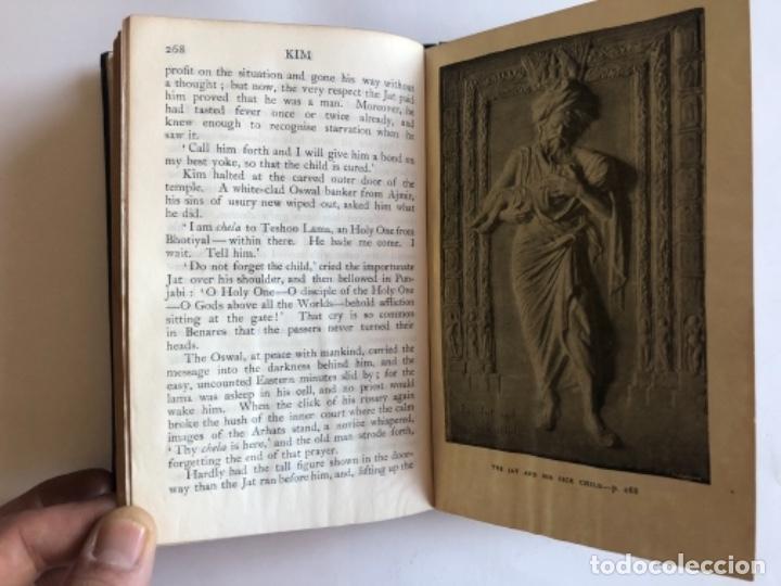 Libros antiguos: KIM BY RUDYARD KIPLING. ED. MACMILLAN &CO,1920. ILUSTRADO BY J. LOCKWOOD KIPLING. - Foto 7 - 126268847