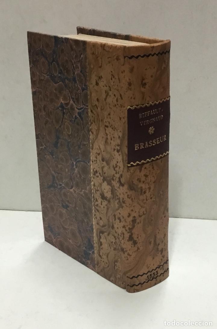Libros antiguos: NOUVEAU MANUEL COMPLET DU BRASSEUR OU LART DE FAIRE TOUTES SORTES DE BIÈRES… CERVEZA, CERVEZAS - Foto 2 - 126276583