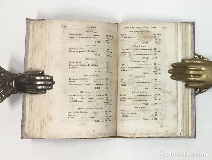 Libros antiguos: NOUVEAU MANUEL COMPLET DU BRASSEUR OU LART DE FAIRE TOUTES SORTES DE BIÈRES… CERVEZA, CERVEZAS - Foto 8 - 126276583