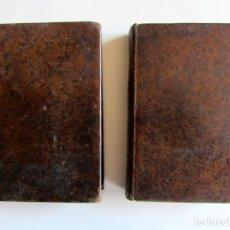 Libros antiguos: HISTORIA DE LA RELIGIÓN. TOMO II Y III. SANTAGO JOSÉ GARCÍA MAZO. AÑO 1842. . Lote 126290495