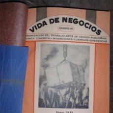Libros antiguos: VIDA DE NEGOCIOS - AÑO 1935 COMPLETO EN UN TOMO PERFECTO. Lote 126308579