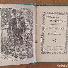 Libros antiguos: PETIT POISSON LES DEBUTS D'UN PEINTRE PAR ERNEST FAUQUENPREZ . Lote 126337587