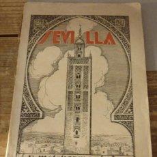 Libros antiguos: SEVILLA Y SUS MONUMENTOS ARABES MELCHOR M ANTUÑA.1930.141 PG.8º. Lote 126344507