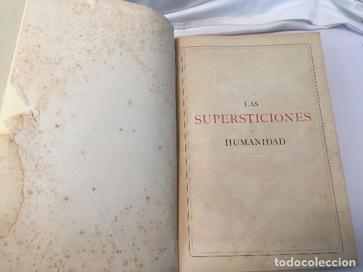 Libros antiguos: 1880.LAS SUPERSTICIONES DE LA HUMANIDAD. JOSÉ COROLEU. TOMO I Y II - Foto 19 - 126359179