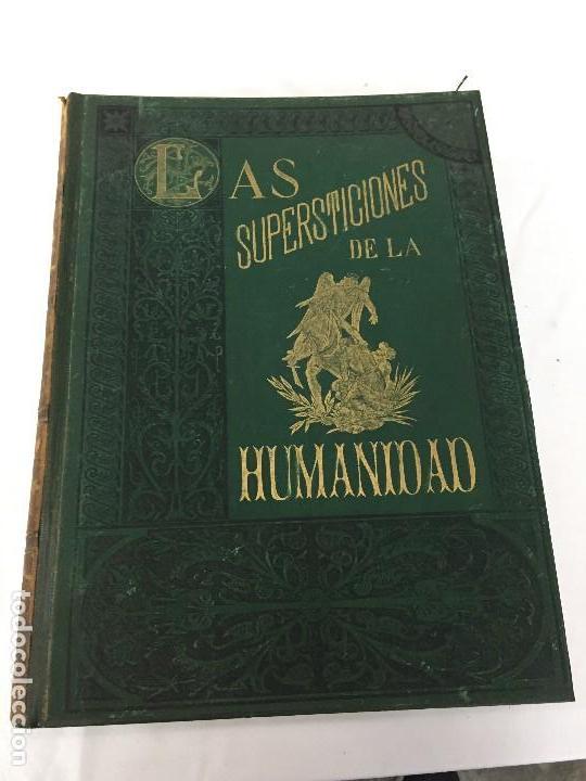 1880.LAS SUPERSTICIONES DE LA HUMANIDAD. JOSÉ COROLEU. TOMO I Y II (Libros Antiguos, Raros y Curiosos - Historia - Otros)