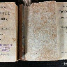 Libros antiguos: 1826 - DON QUIJOTE DE LA MANCHA - 2 TOMOS, MIGUEL DE CERVANTES SAAVEDRA. Lote 126361907