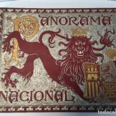 Libros antiguos: PANORAMA NACIONAL. TOMO II. 1898. Lote 126371223