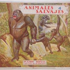 Libros antiguos: EL REINO ANIMAL PARA NIÑOS: ANIMALES SALVAJES. Nº 4. RAMON SOPENA. Lote 126437627