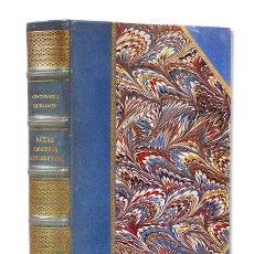 Libros antiguos: ACTAS DEL CONGRESO INTERNACIONAL DE APOLOGÉTICA. 1911-1916. 2 TOMOS EN UN VOLUMEN. MAGNÍFICA ENCUAD.. Lote 126443827