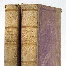 Libros antiguos: CASTELAR, EMILIO: HISTORIA DEL MOVIMIENTO REPUBLICANO EN EUROPA (2 VOLS.) (MANUEL RODRÍGUEZ) (CB). Lote 126528735