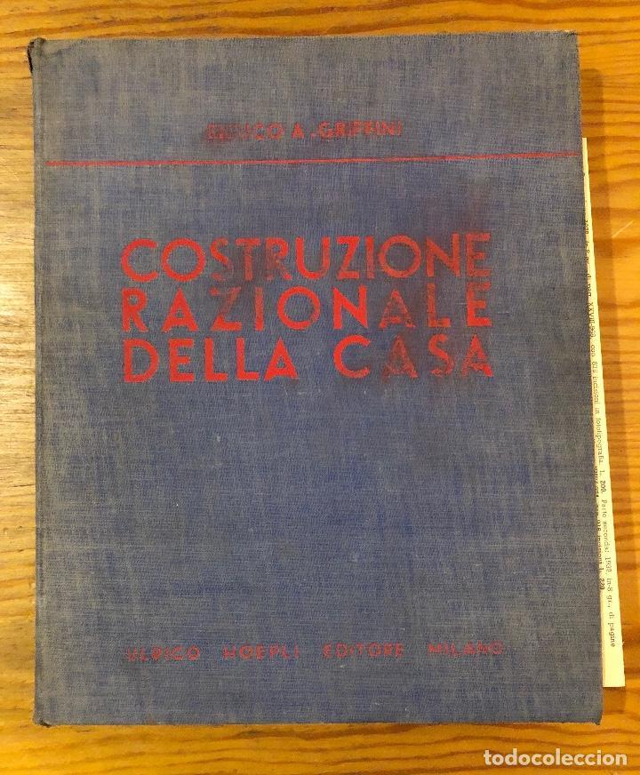 COSTRUZIONE RAZIONALE DELLA CASA(47€) (Libros Antiguos, Raros y Curiosos - Ciencias, Manuales y Oficios - Otros)