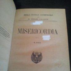 Livres anciens: MISERICORDIA,BENITO PEREZ GALDOS,1920. Lote 126657135