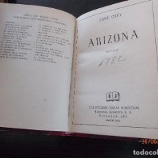 Libros antiguos: ARIZONA ZANE GREY. Lote 126709643