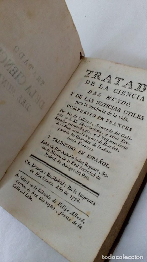 TRATADO DE LA CIENCIA DEL MUNDO. 1778 (Libros Antiguos, Raros y Curiosos - Ciencias, Manuales y Oficios - Otros)