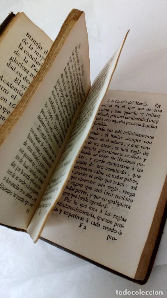 Libros antiguos: TRATADO DE LA CIENCIA DEL MUNDO. 1778 - Foto 4 - 126731127