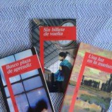 Libros antiguos: TRES LIBROS DE EDICIONES ALFAGUARA ,EDICIÓN DE BOLSILLO AÑOS 90. Lote 126815399