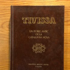 Libros antiguos: TIVISSA (39€). Lote 126816419