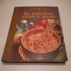Libros antiguos: GRAN ENCICLOPEDIA 7 LA COCINA PASÓ A PASO. Lote 126822995