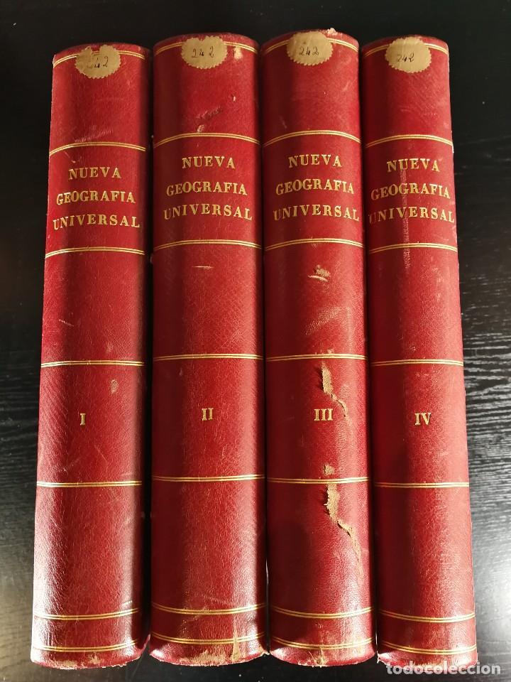 NUEVA GEOGRAFÍA UNIVERSAL , OBRA COMPLETA 1881 , MONTANER Y SIMON , BARCELONA. RARA ¡!!!!!!!!! (Libros Antiguos, Raros y Curiosos - Historia - Otros)